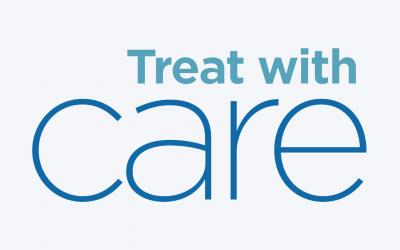 Treat with Care campaign logo