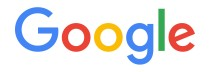 Google logo in blue, red, green, and yellow